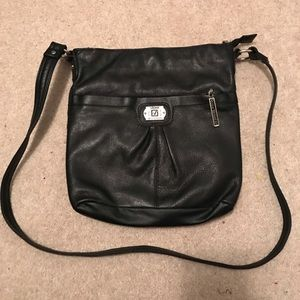 NWOT Stone Mountain Crossbody Black leather purse
